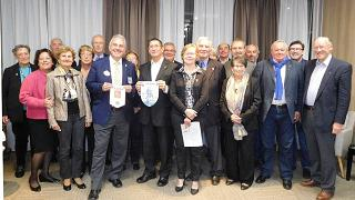 Les membres du club Aunis